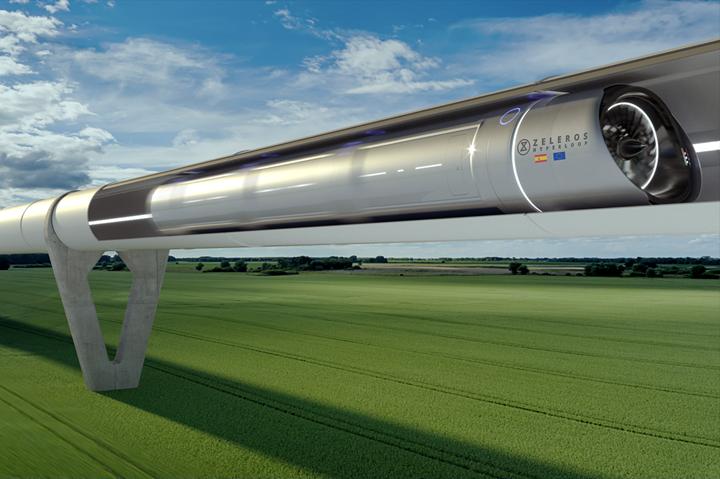 Zeleros Hyperloop rendition