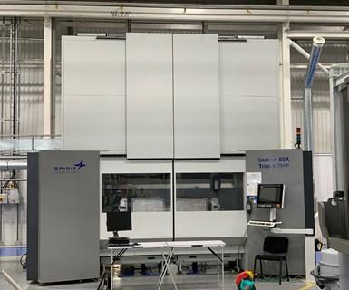 Spirit AeroSystems A320 spoiler line, CNC machining