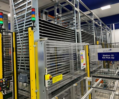 Spirit AeroSystem A320 spoiler line kit warehouse