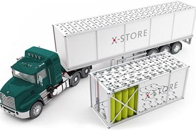 Illustration of Hexagon Purus X-Store concept