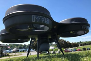 Composites complete IYRS heavy lift quadcopter demonstrator concept