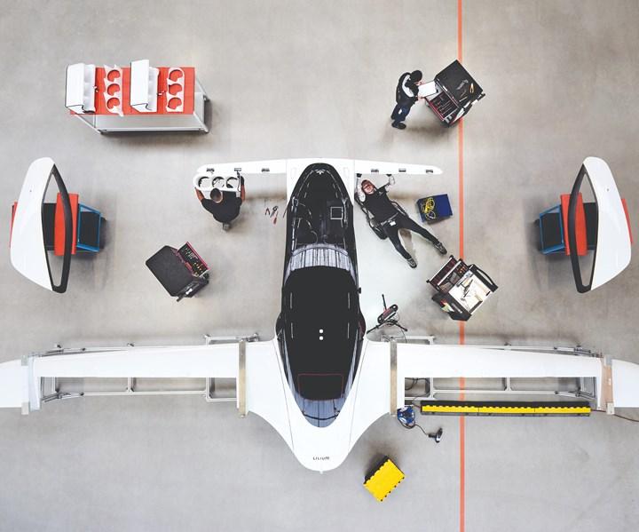 Lilium Jet assembly