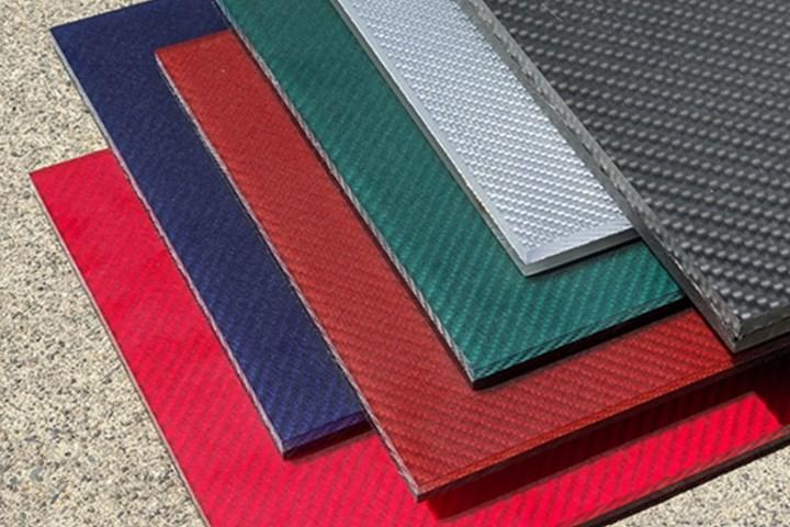 Rock West Composites carbon fiber architectural panels