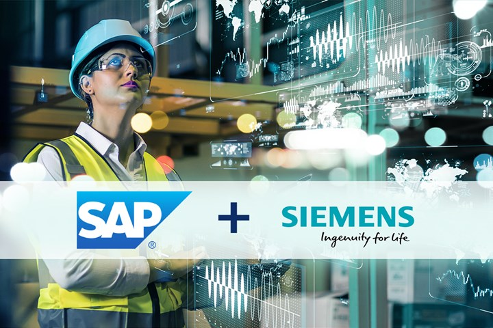 Siemens AG and SAP partnership