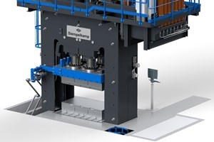 First Siempelkamp SMC press system for U.S. customer accepted