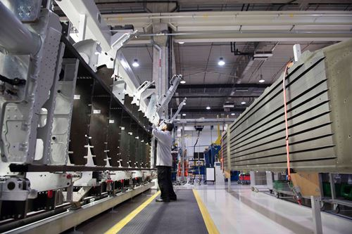 Strata delivers 100 shipsets of inboard flaps for Airbus A350-900