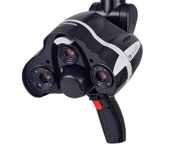 Exact Metrology laser scanner