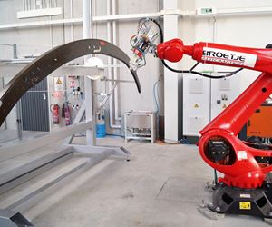 Broetje-Automation presents automated sealer for aircraft components.