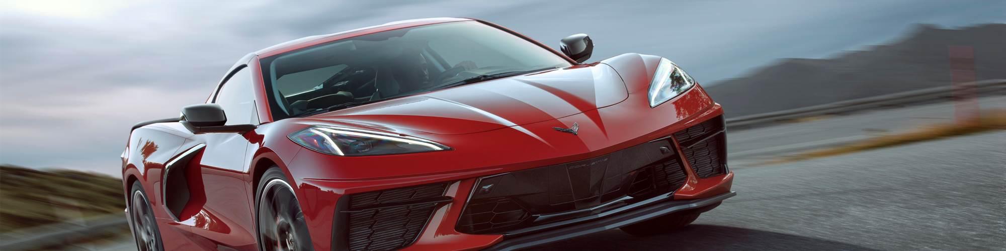 Corvette front shot