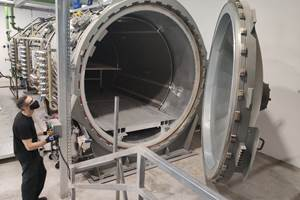 Kanfit installs new autoclave, automated cutter to increase composite parts production capacity