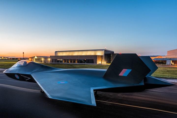 GKN Aerospace air combat technology