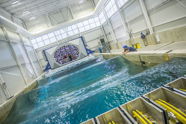 Wind-Wave Ocean Engineering Laboratory at the University of Maine