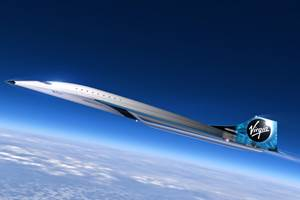 Virgin Galactic completes milestones for Mach 3 aircraft concept