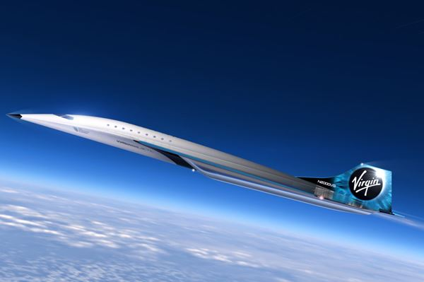 Virgin Galactic completes milestones for Mach 3 aircraft concept image