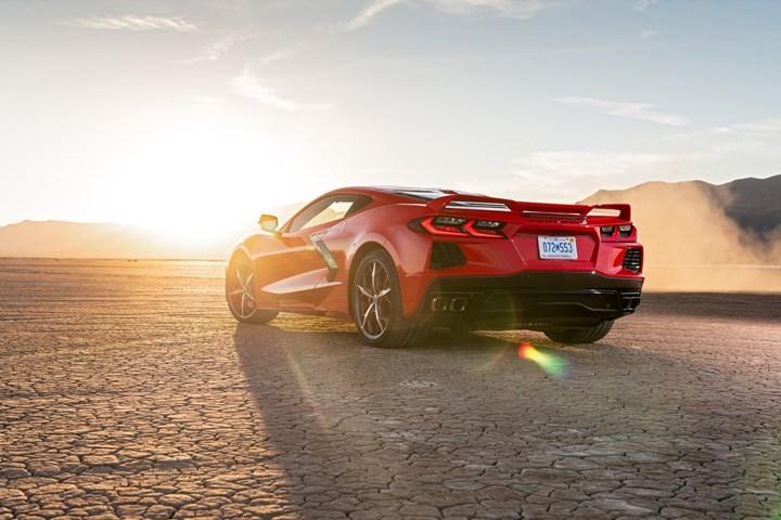 Composite-intensive 2020 Corvette Stingray