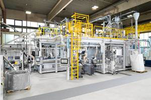 KraussMaffei recompounding line available for customer trials