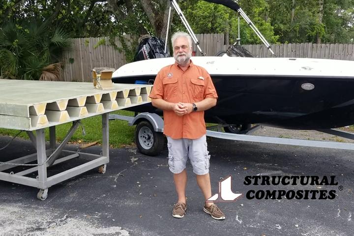Structural Composites bridge deck CAMX 2020