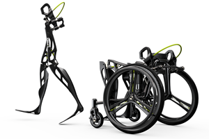 C-FREX carbon fiber composite exoskeleton structural analysis and design