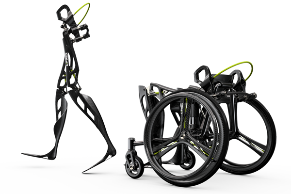 C-FREX exoskeleton depends on CFRP for unpowered movement image