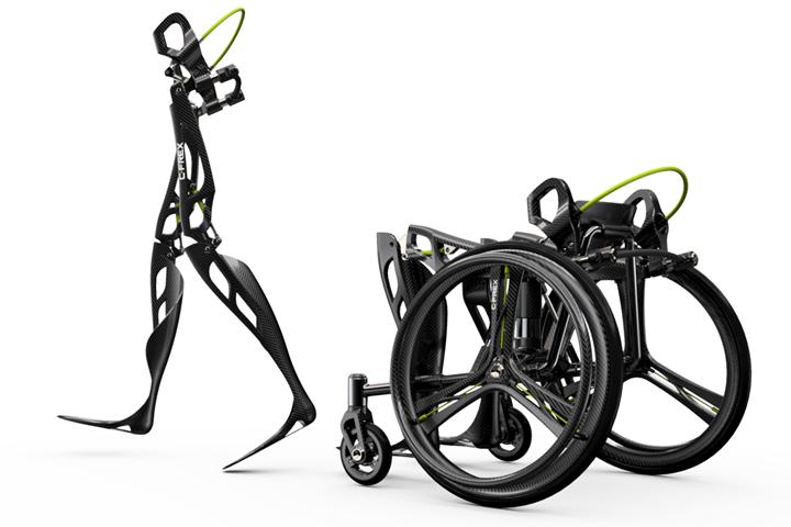 C-FREX carbon fiber composite exoskeleton