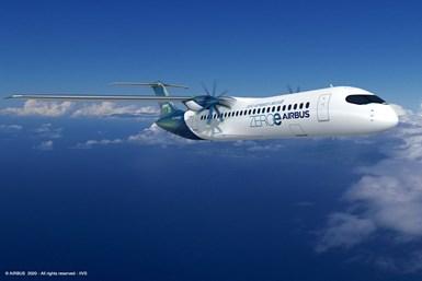 Airbus turboprop design
