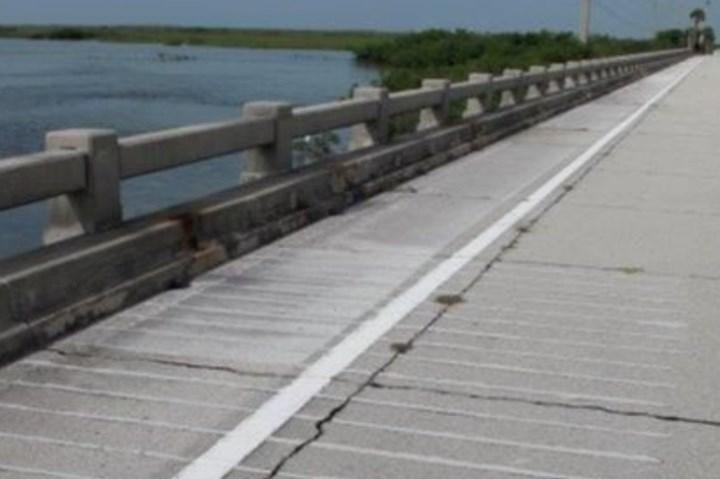 Owens Corning CFRP bars strengthening a bridge