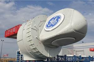 GE rolls out first turbine nacelle for 480 MW offshore wind farm