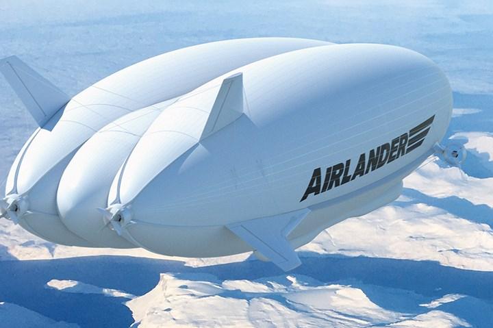 HAV Airlander aircraft