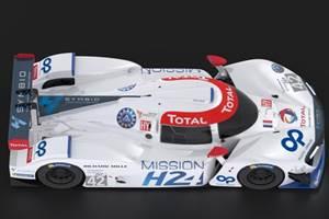 Plastic Omnium supplies composite hydrogen storage tanks for MissionH24 cars
