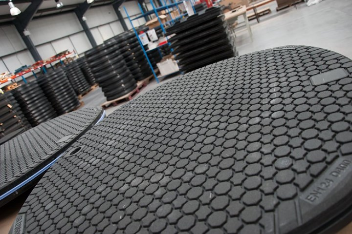 Composite covers developed by Structural Science Composites