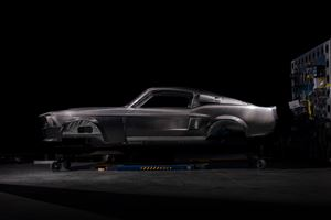 Classic Recreations uses carbon fiber for GT500CR Mustang