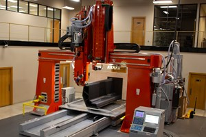 Thermwood demonstrates vertical layer print additive technology