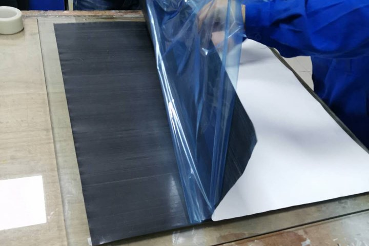 HL3 carbon fiber epoxy prepreg for railway applications