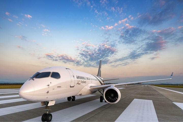 ACJ TwoTwenty corporate jet