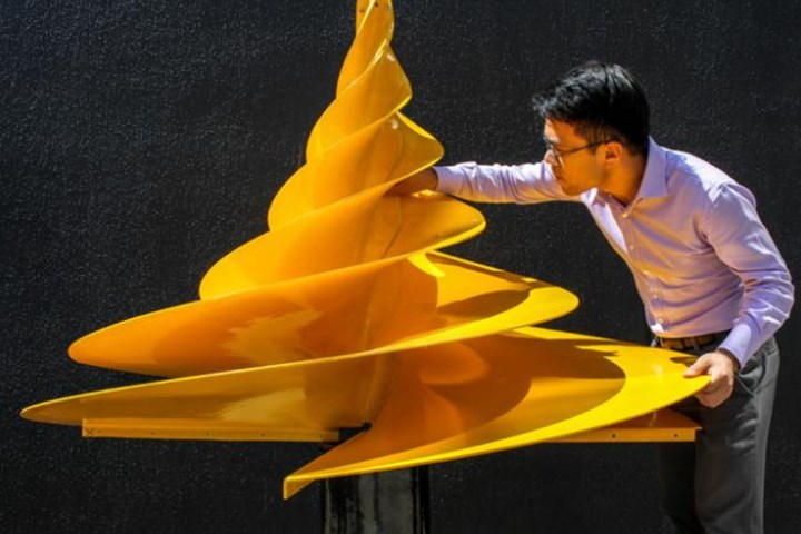 Kinetic NRG's hydro-electric composite wind turbine design