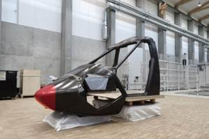 Clean Sky project completes carbon fiber canopy structure for RACER demonstrator