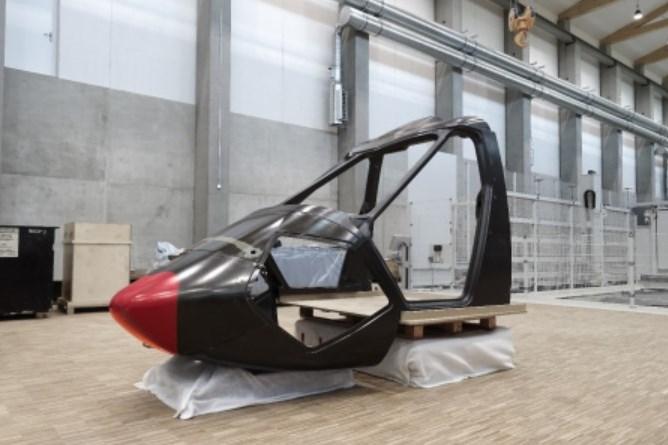 RACER carbon fiber canopy structure