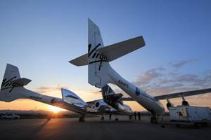 SpaceShip Two prepares for first spaceflight