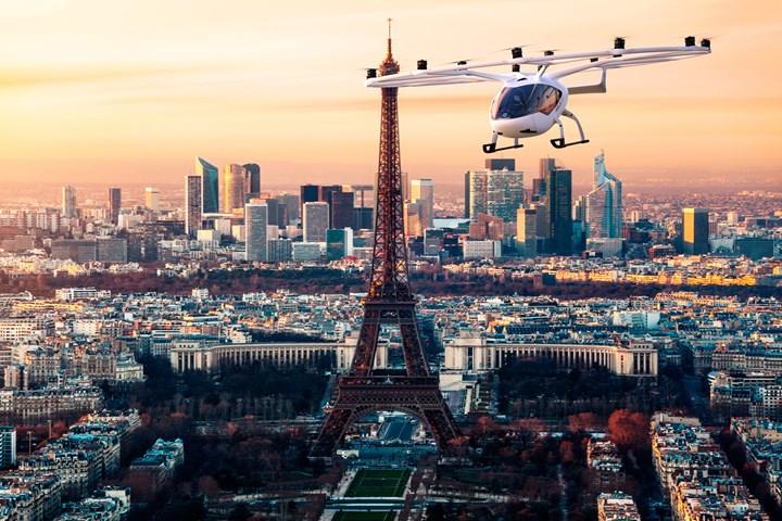 Volocopter begins VoloCity evTOL testing in Paris