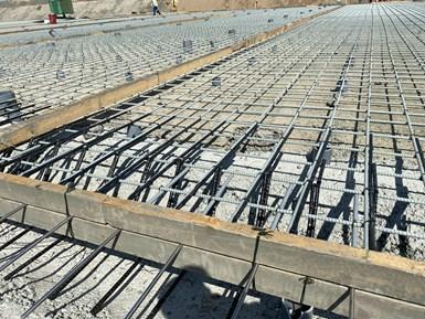FRP rebar to reinforce concrete in Jizan Flood Channel project