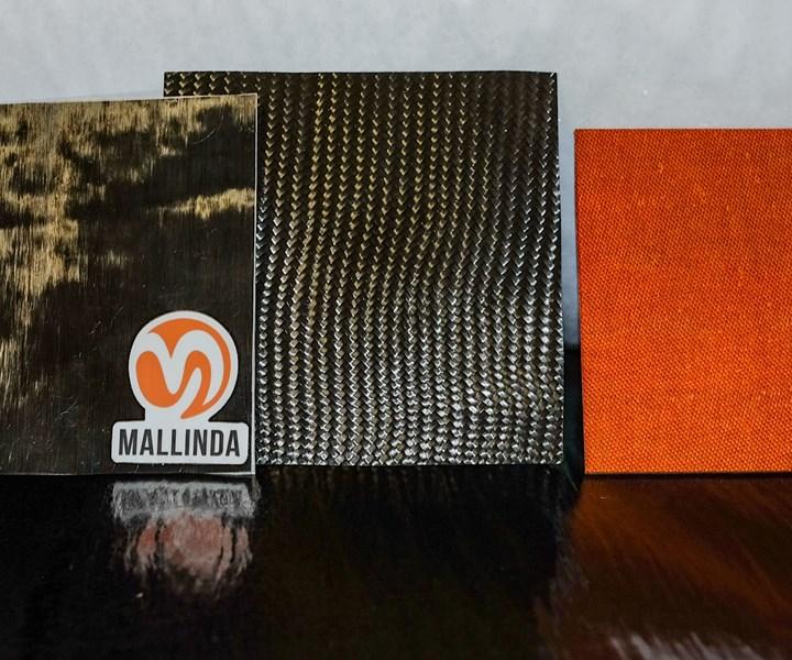 Mallinda vitrimers polymer precured sheets