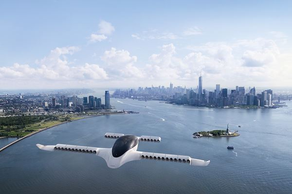 复合航空结构在新兴城市空中交通市场中的形象