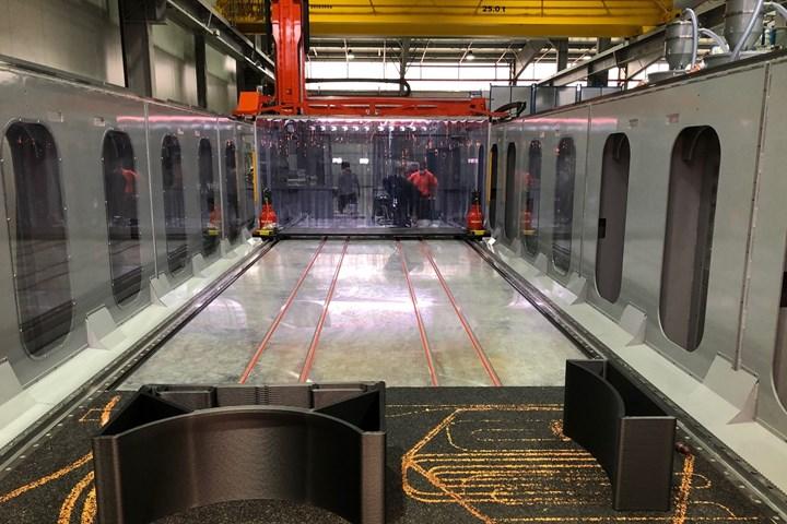 Airtech International's large-scale 3D printing machine