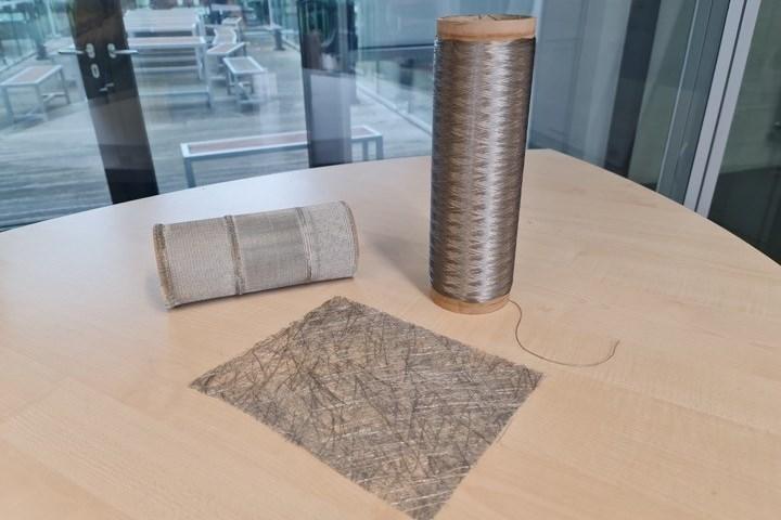 Alucoat multifilament fibers