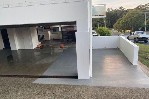 ATL Composites contributes to concrete pillar remediation project