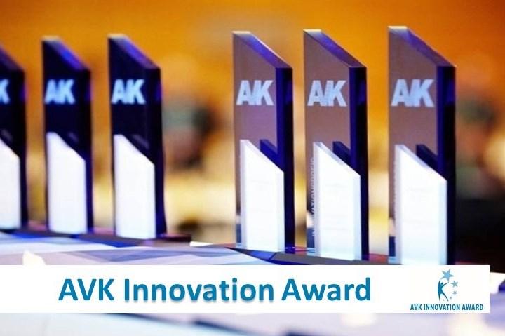 AVK Innovation Award trophies