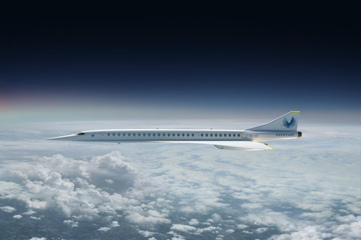 Boom Supersonic's Overtured aircraft