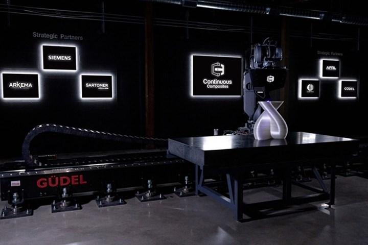 Continuous Composites' Continuous Fiber 3D Printing (CF3D) technology