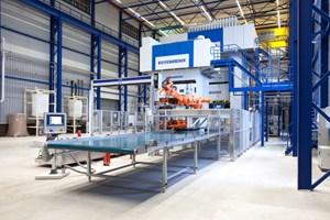 Dieffenbacher D-LFT line enables large thermoplastic component production