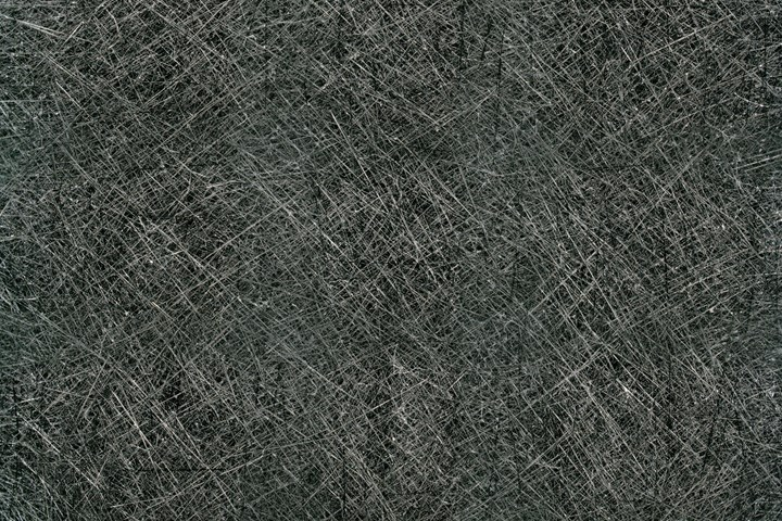 Silicon carbide fibers magnified